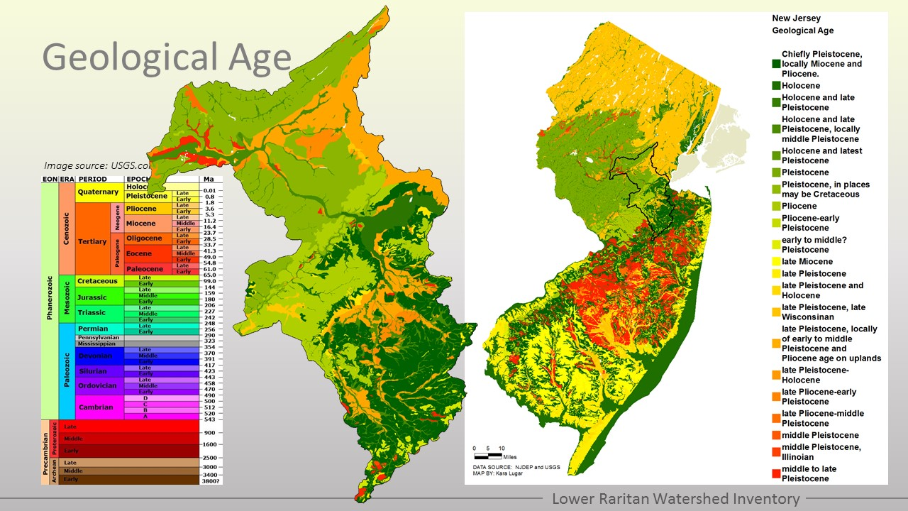 Geology of the lrw lower raritan watershed partnership physiographic regions sciox Choice Image