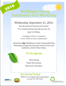9.21.2016 Middlesex County Sustainable Hub