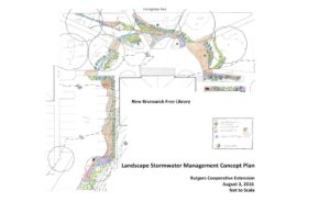 GI Landscape Stormwater Mgmt Concept Plan for the NB Public Library - RU Water Resources